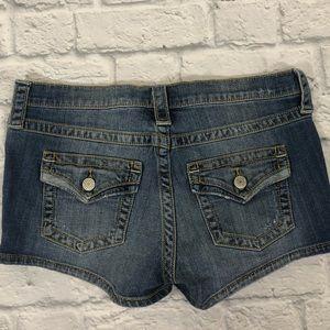 Victoria's Secret denim jean shorts. Size 6